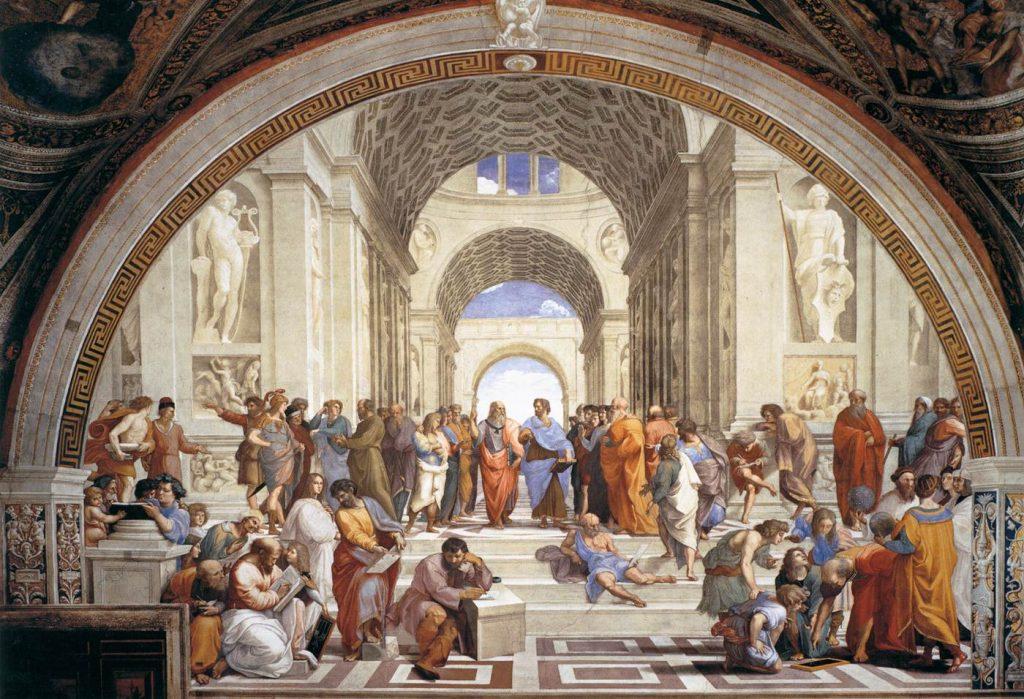Hamilton Shapiro School of Athens Raphael fresco